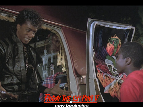 Miguel A Nunez Jr and Shavar Ross Friday the 13th Part 5 - Arrival - 8X10