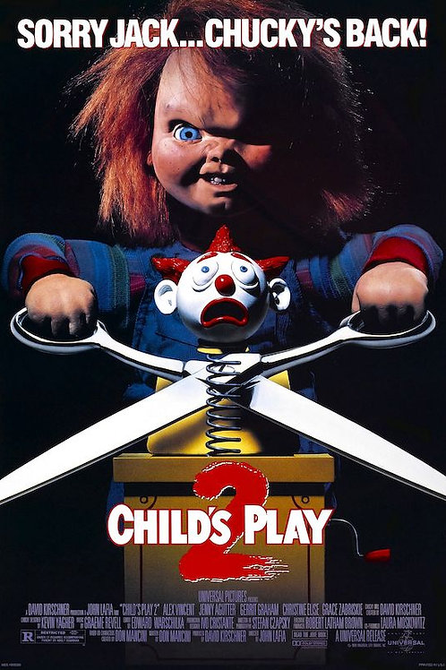 """Child's Play 2 24""""X36"""" Poster"""
