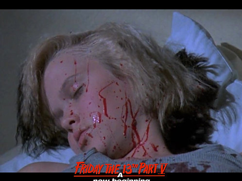 Tiffany Helm as Violet Friday the 13th Part 5 - Dead and Stacked 8