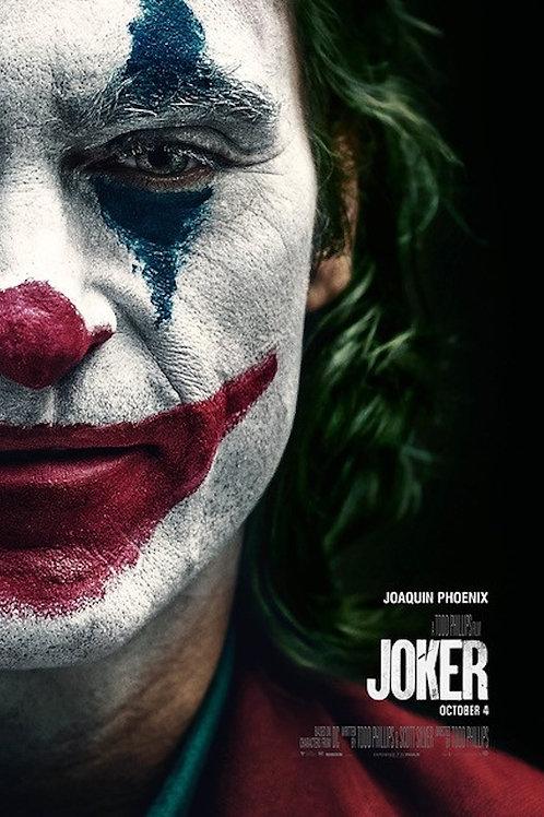 """Joaquin Phoenix Joker 24""""X36"""" Poster"""