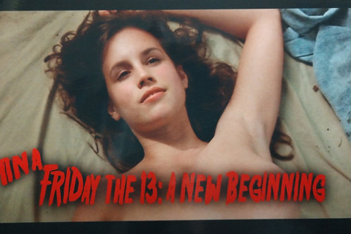 Deborah Voorhees as Tina Friday the 13th Part 5 - Blanket 8X10
