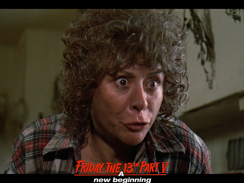 Carol Locatell Friday the 13th Part 5 - Ethel 8 Closeup - 8X10