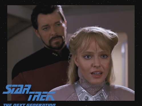 Lisa Wilcox - Star Trek: TNG - With Riker 3 - 8X10