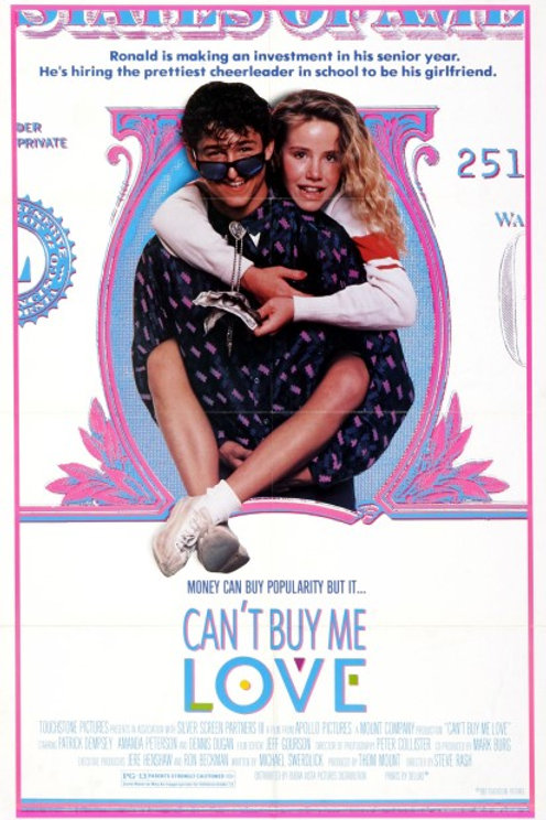 Darcy DeMoss Can't Buy Me Love 11X17 Movie Poster