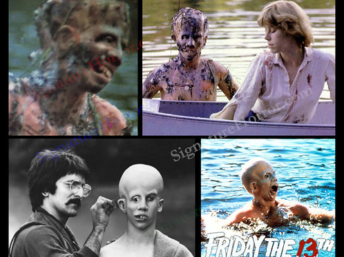 Ari Lehman - Friday the 13th - Collage 1 - 8X10