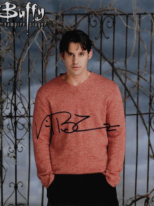 Nicholas Brendon signed 8X10 Gate