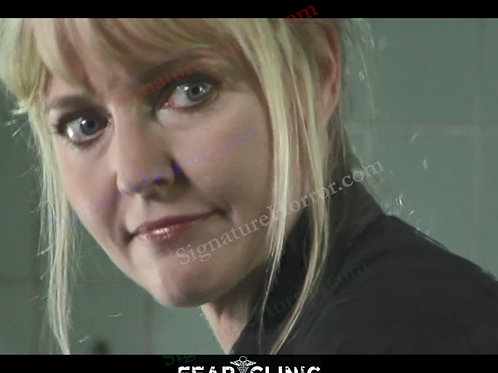Lisa Wilcox - Fear Clinic - Behind the Scenes 3 - 8X10