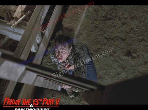 John Shepherd - Friday the 13th Part V - Barn 8 - 8X10