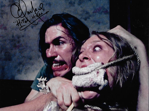 Ed Neal The Texas Chainsaw Massacre - With Sally Tied Up - 8X10