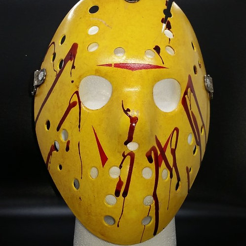 Friday the 13th Replica Hockey Mask - Part 8 Extra Bloody