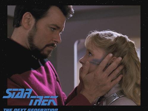 Lisa Wilcox - Star Trek: TNG - With Riker 5 - 8X10