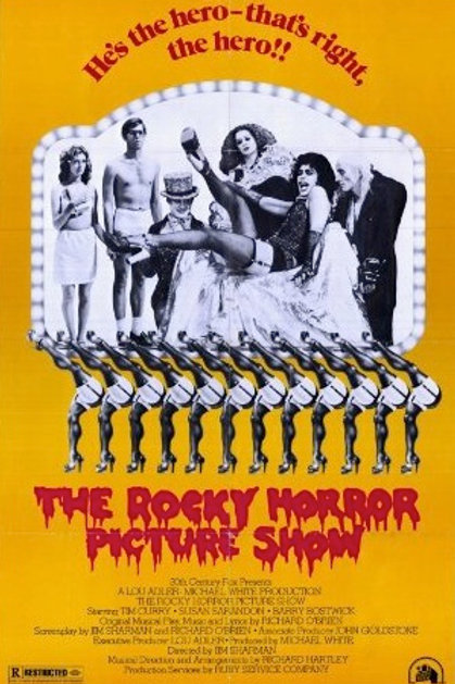 """The Rocky Horror Picture Show Legs 24""""X36"""" Poster"""