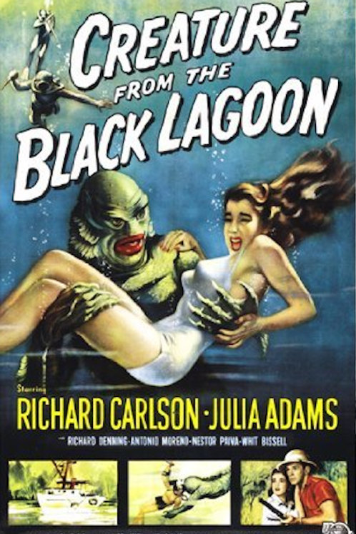"""Creature from the Black Lagoon 24""""X36"""" Poster"""