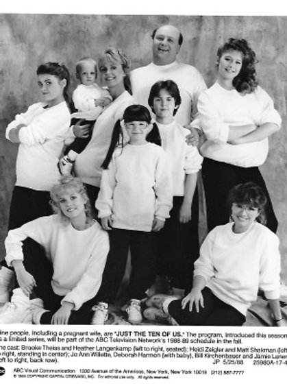 Brooke Theiss - Just the 10 of Us - Just the 9 Of Us - 8X10