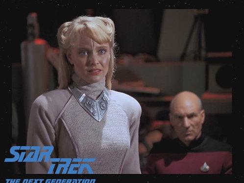 Lisa Wilcox - Star Trek: TNG - With Picard 3 - 8X10