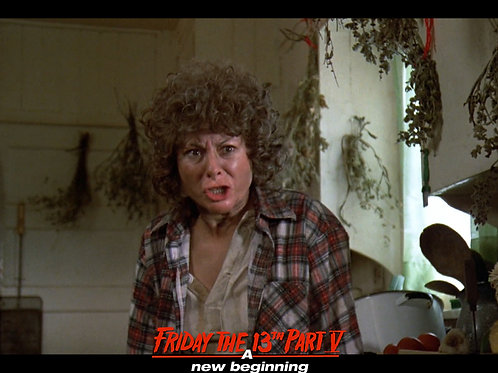 Carol Locatell Friday the 13th Part 5 - Ethel 9 - 8X10