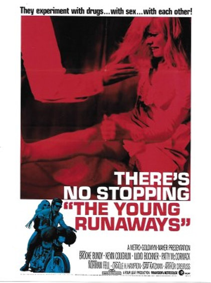 Brooke Bundy - The Young Runaways Poster - 8X10