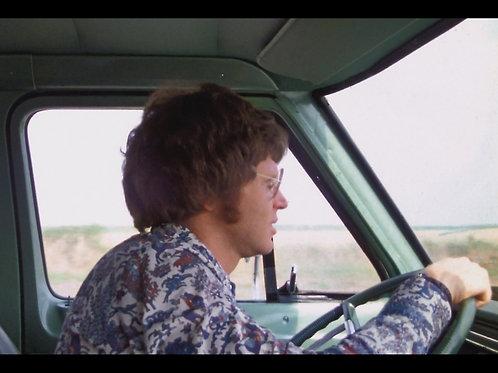 Allen Danziger Texas Chainsaw Massacre - Driving - 8X10