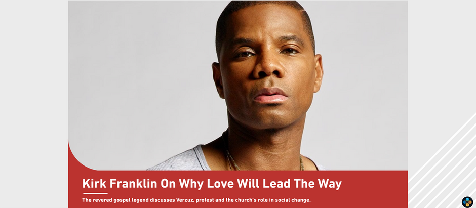 Kirk Franklin | BET Interview, Why Love Will Lead the Way
