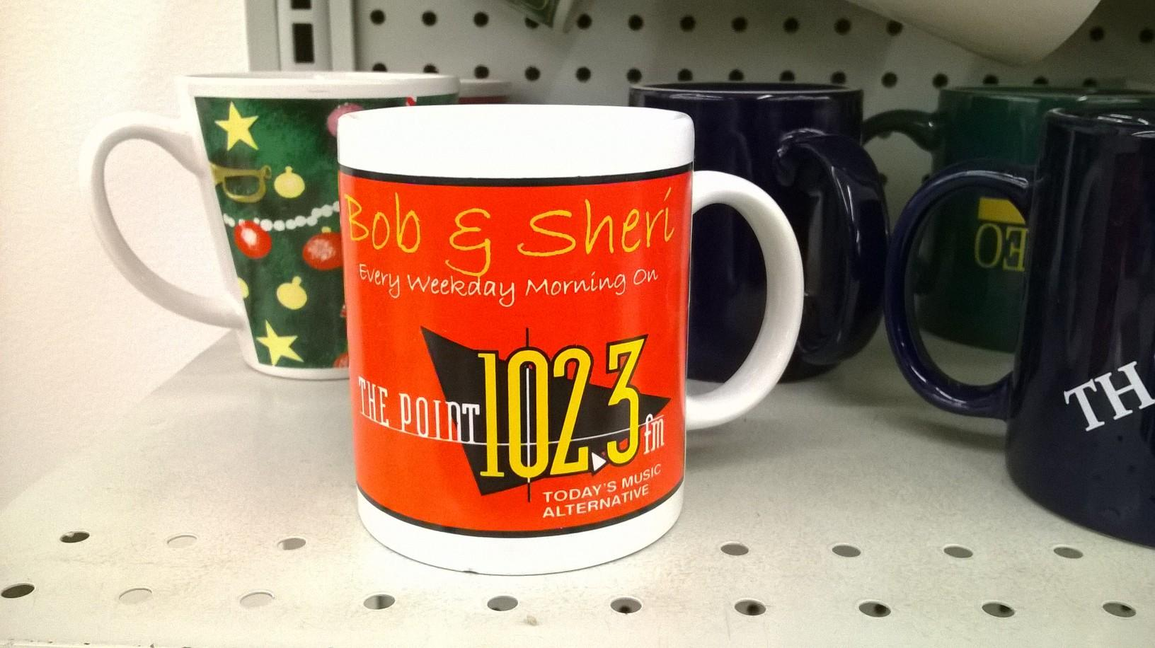Bob and Sheri coffee mug