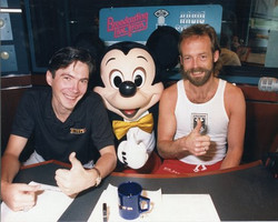 Jim Cook & Craig Warvel with Mickey