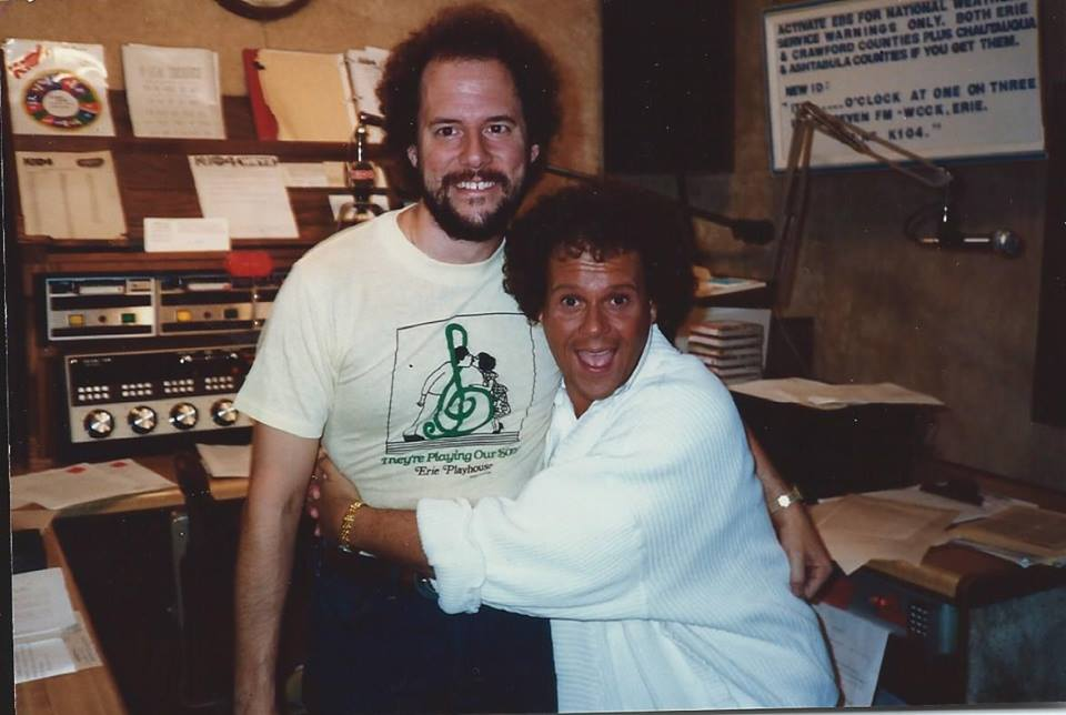 Griffey and Richard Simmons