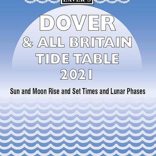 2021 Dover & All Britain Tide Table