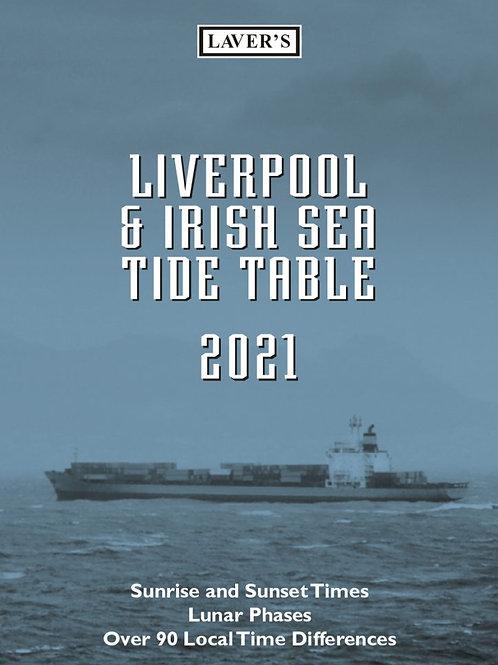 2021 Liverpool & Irish Sea Tide Table Diary