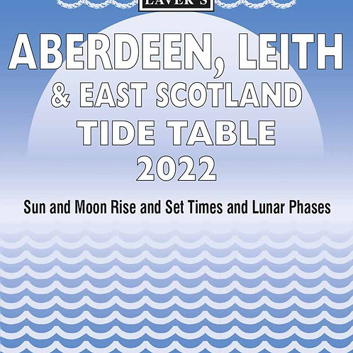 2022 Aberdeen & Leith Tide Table