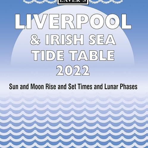 2022 Liverpool & Irish Sea Tide Table