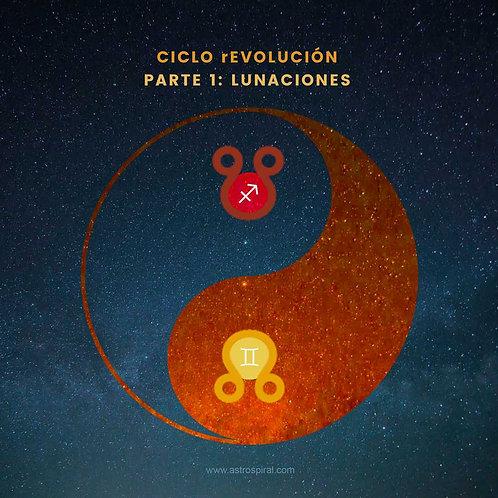 WEBINAR CICLO REVOLUCIÓN. PARTE 1: LUNACIONES.
