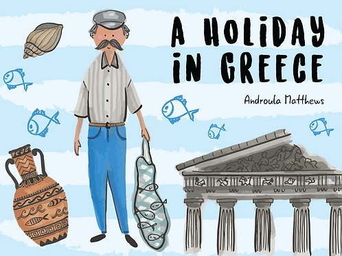 A Holiday in Greece Book