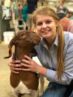 Baylee Goat Oct 2017