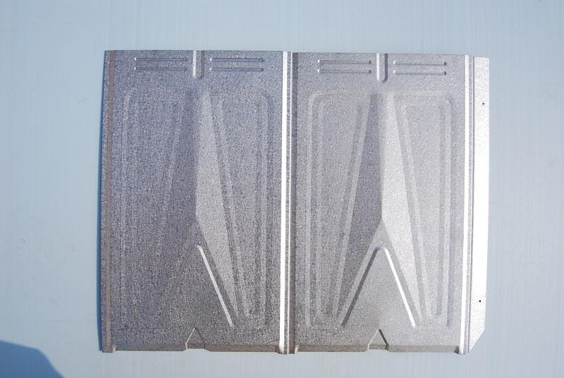 Metal shingles installation