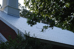 Metal Shingles church installation