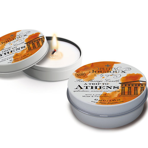 Petits JouJoux Massage Candle Athens 43ml