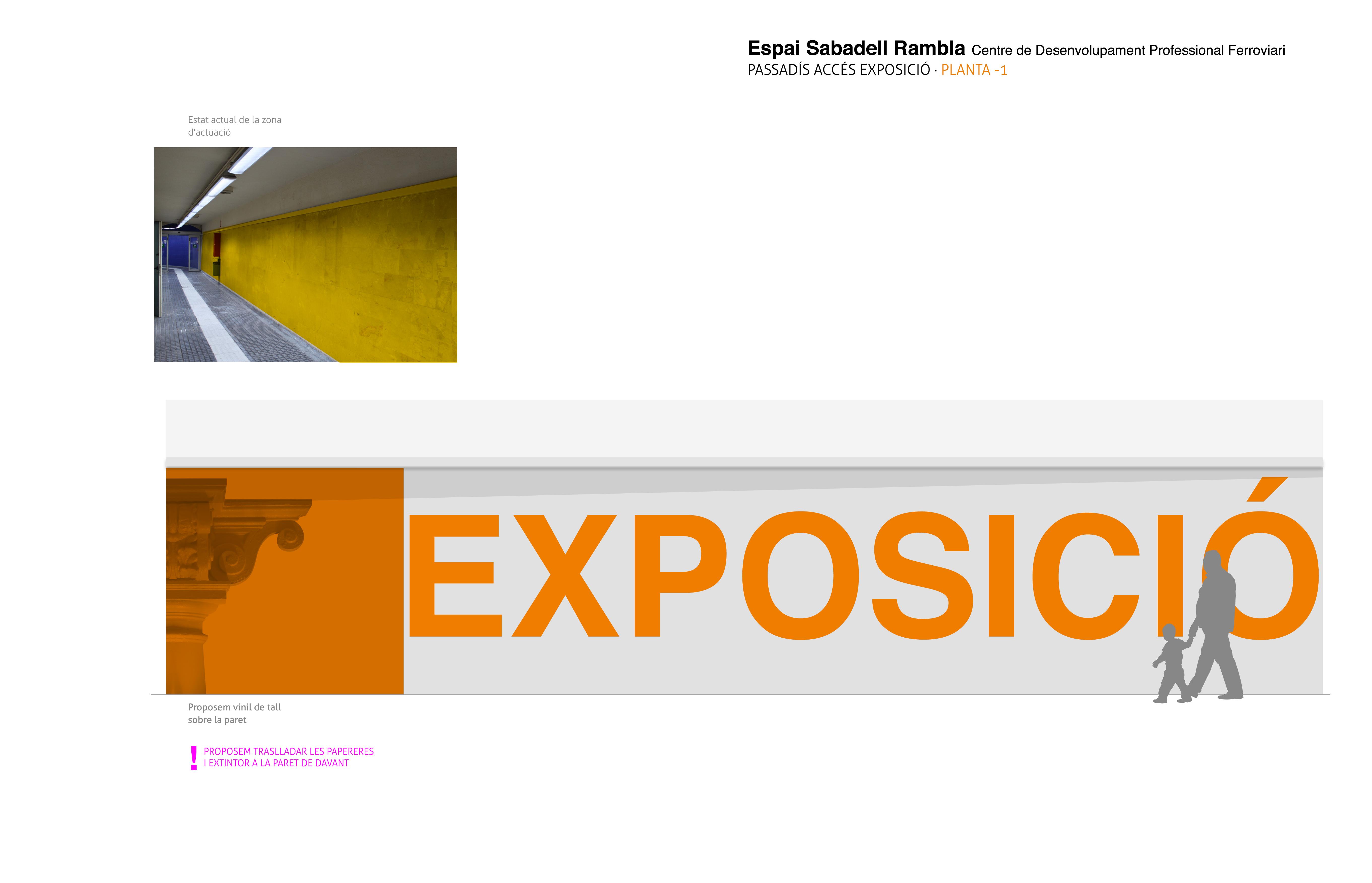 Proyecto Rótulo Exposició