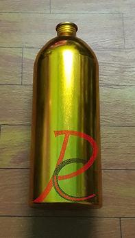 Botol Aluminium Gold 1 lt