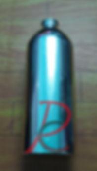Botol Aluminium Silver 1 lt