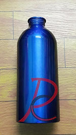 Botol Aluminium Blue 500 ml