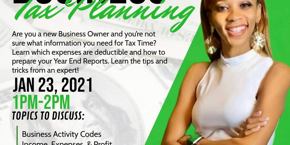 Business Tax Planning Webinar