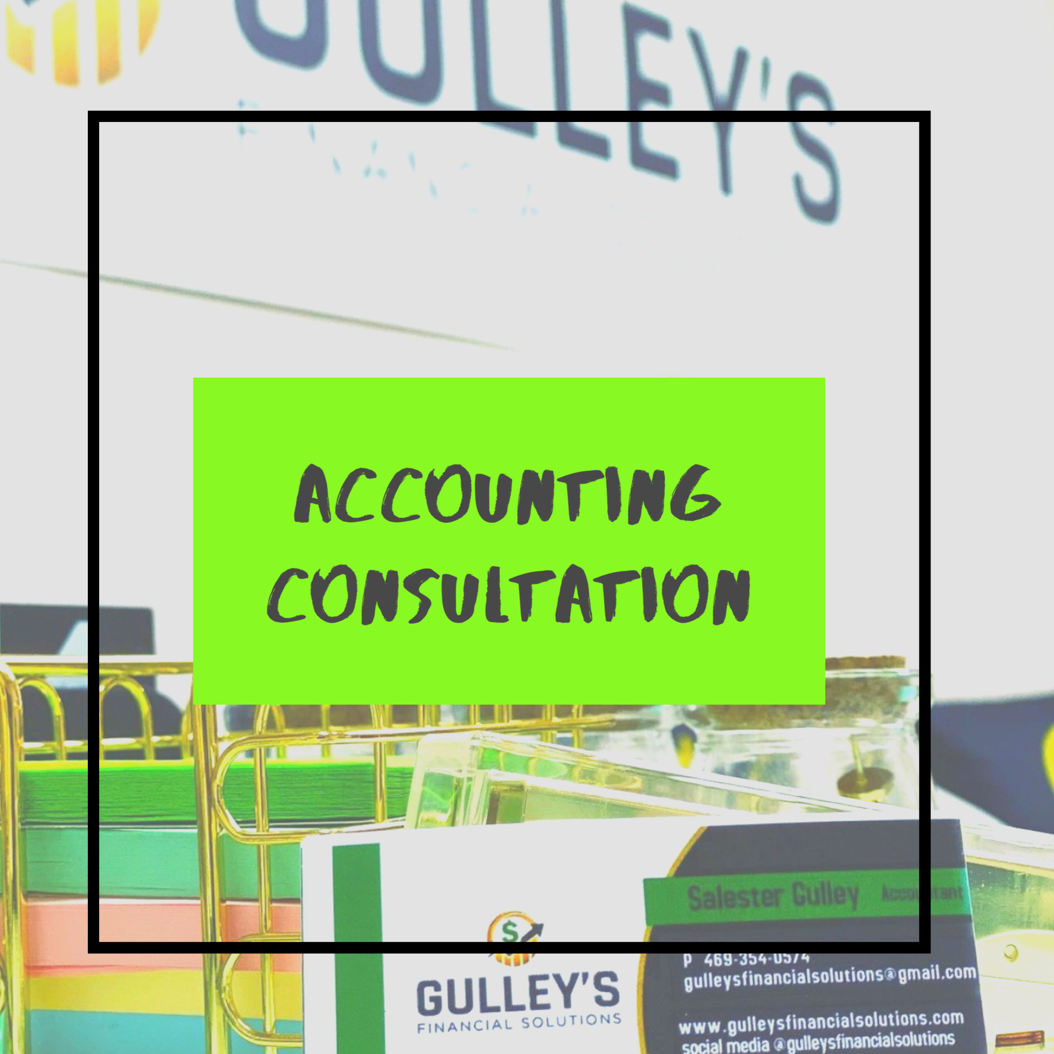 Accounting Consultation