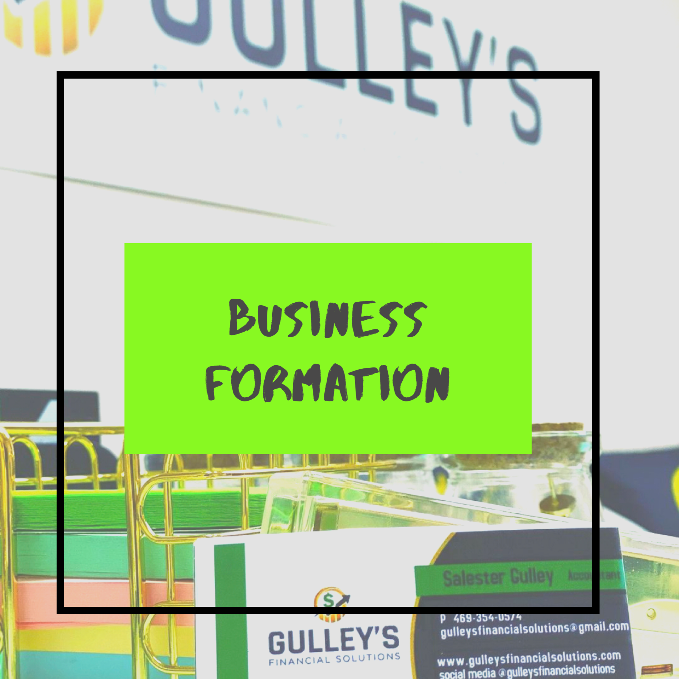 Business Formation