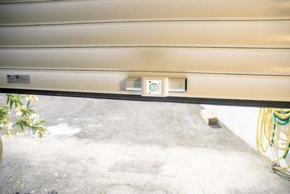 Protégez votre porte de garage.