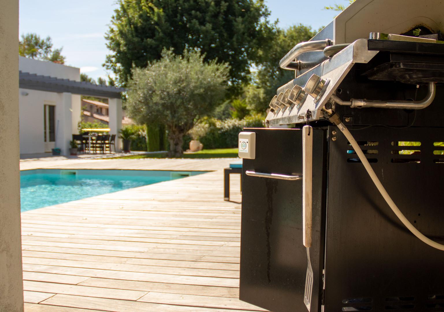 Protégez même votre barbecue.