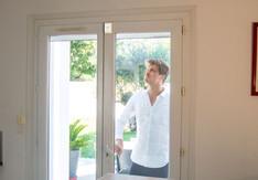 SQUIDD Home protégeant une porte-fenêtre
