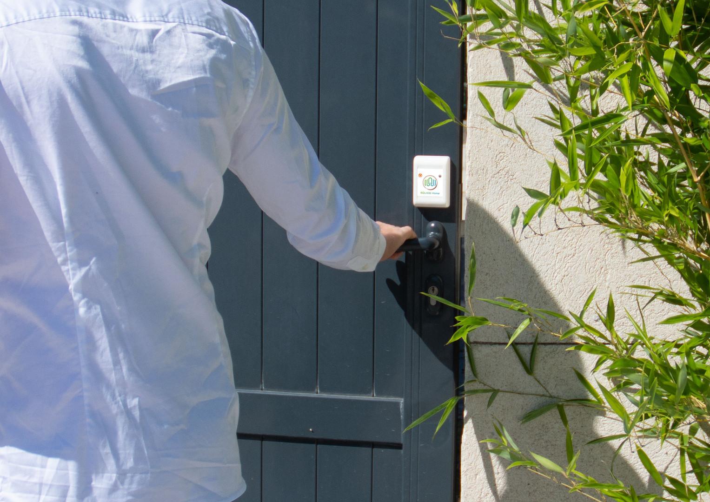 Protégez vos portes à l'extérieur.