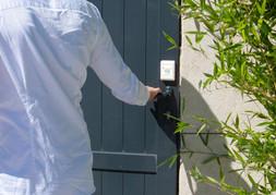 Vos portes peuvent aussi être protégées.