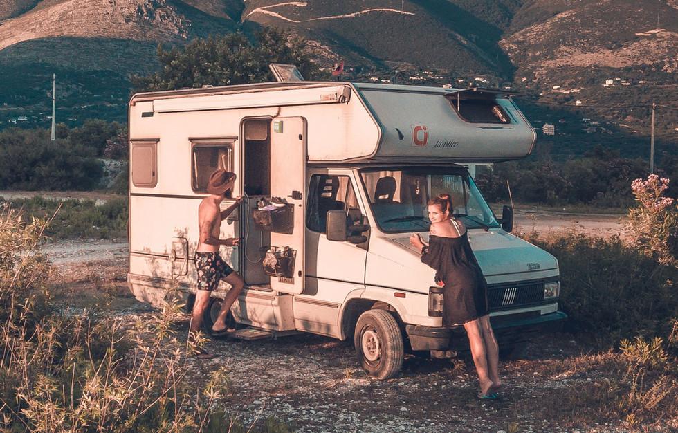 Protégez votre camping-car.