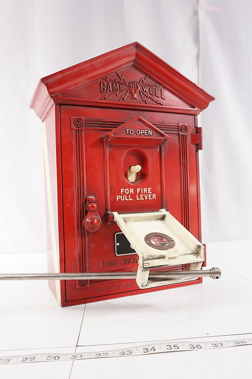 Game Well Fire Alarm Station Call Box